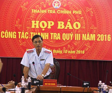 Chua ket thuc thanh tra Tong cong ty co phan Xay lap Dau khi PVC - Anh 2