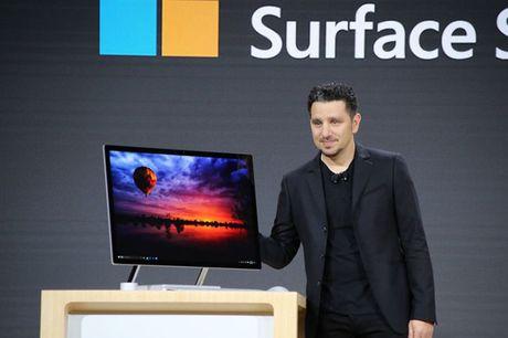 Microsoft bat ngo cong bo may tinh AIO Surface Studio doi dau iMac - Anh 2