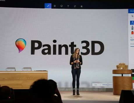 Microsoft Paint 3D: Buoc nhay vot cua ung dung Paint co dien - Anh 1