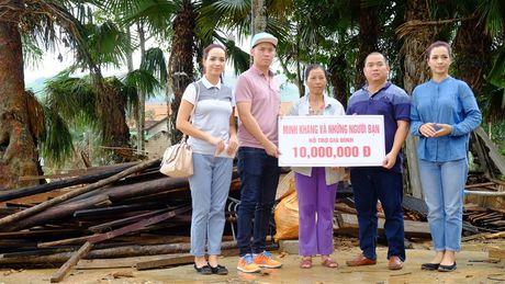 Nhac sy Minh Khang va nhung nguoi ban lam tu thien tai Quang Binh - Anh 2
