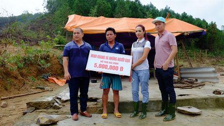 Nhac sy Minh Khang va nhung nguoi ban lam tu thien tai Quang Binh - Anh 7