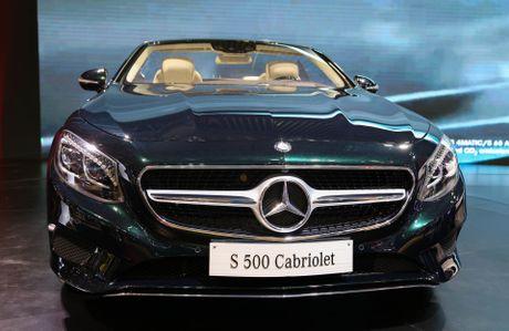 Mercedes S500 mui tran gia gan 11 ty vua ra mat tai VN - Anh 1