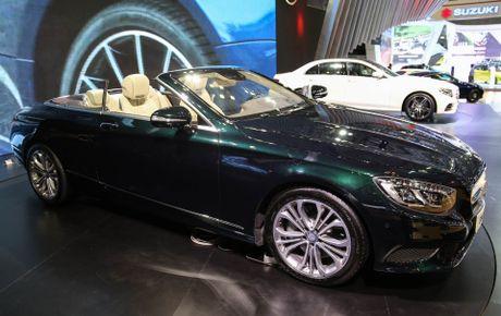 Mercedes S500 mui tran gia gan 11 ty vua ra mat tai VN - Anh 2
