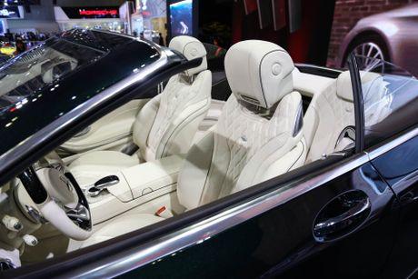 Mercedes S500 mui tran gia gan 11 ty vua ra mat tai VN - Anh 5