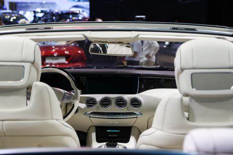 Mercedes S500 mui tran gia gan 11 ty vua ra mat tai VN - Anh 6