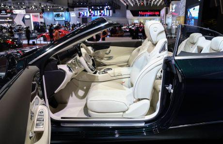 Mercedes S500 mui tran gia gan 11 ty vua ra mat tai VN - Anh 7