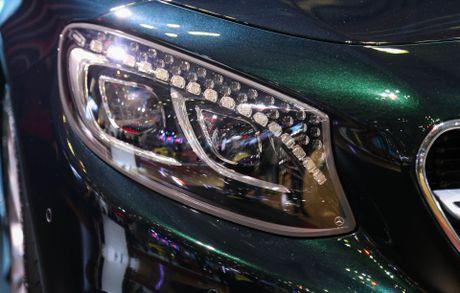 Mercedes S500 mui tran gia gan 11 ty vua ra mat tai VN - Anh 8