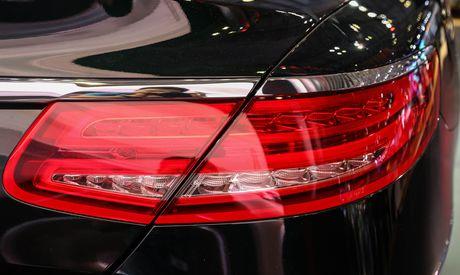 Mercedes S500 mui tran gia gan 11 ty vua ra mat tai VN - Anh 9