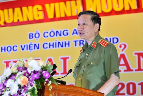 Bo truong To Lam, Truong Minh Tuan du le khai giang - Anh 5