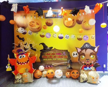Le hoi Halloween tai khu vui choi tre em tiNiWorld - Anh 4
