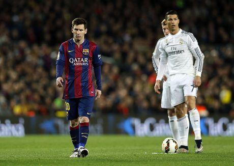 Ronaldo nghi gi ve Messi? - Anh 1
