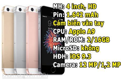 iPhone SE ha gia 2,2 trieu dong - Anh 1
