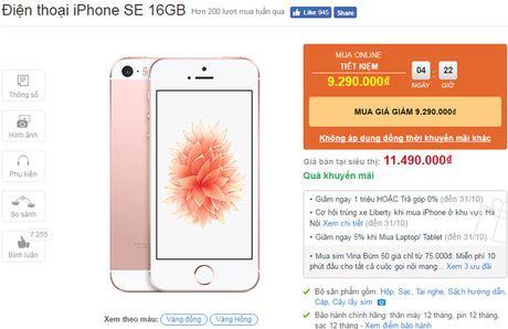iPhone SE ha gia 2,2 trieu dong - Anh 2
