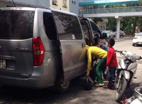 Bien tuong xe du thanh xe cho nguoi nha benh nhan - Anh 1