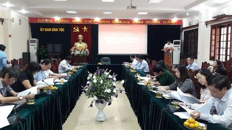 Uy ban Dan toc to chuc Hoi nghi giao ban bao chi quy IV/2016 - Anh 1