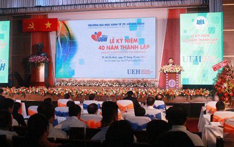 Chu tich nuoc du ky niem 40 nam Dai hoc Kinh te TPHCM - Anh 2