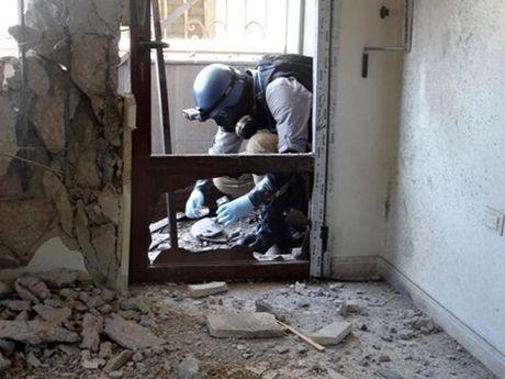 Chinh phu Syria bac bo cao buoc su dung vu khi hoa hoc - Anh 1
