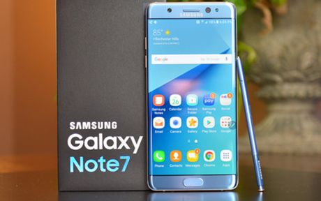 Samsung dieu tra toan dien doi voi su co Galaxy Note 7 - Anh 1