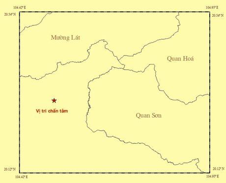 Dong dat 3,9 do Richter tai khu vuc Thanh Hoa gan bien gioi Viet-Lao - Anh 1