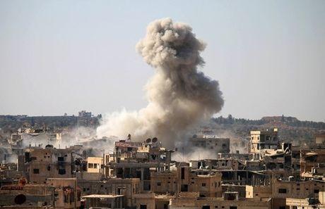 Ngoai truong cac nuoc Nga, Iran va Syria tien hanh hoi dam - Anh 1