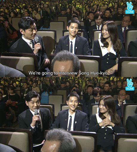 Song Joong Ki ga lang het co voi Song Hye Kyo tren truyen hinh - Anh 6