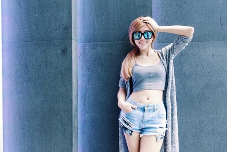 Eo thon hut mat cua hot girl 'Nhat ky Vang Anh' - Anh 12