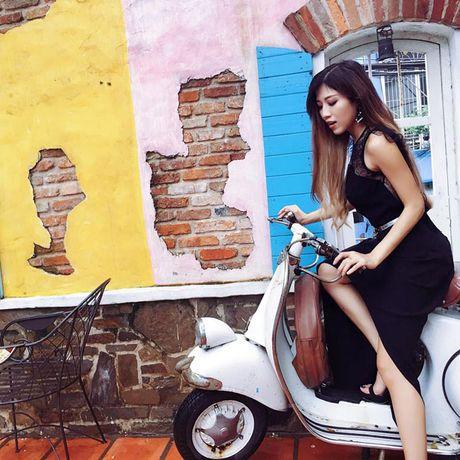 Eo thon hut mat cua hot girl 'Nhat ky Vang Anh' - Anh 4