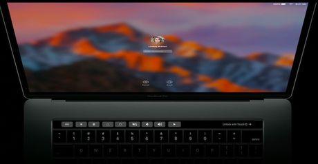 Touch Bar tren Macbook Pro moi co nhung chuc nang gi? - Anh 1