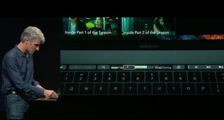 Touch Bar tren Macbook Pro moi co nhung chuc nang gi? - Anh 5