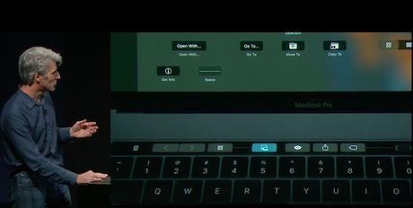 Touch Bar tren Macbook Pro moi co nhung chuc nang gi? - Anh 6