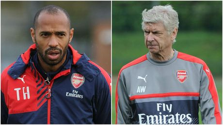 Thierry Henry tiet lo ly do Wenger se tu choi tuyen Anh - Anh 1