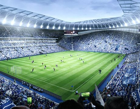 Chiem nguong Sieu SVD sap hinh thanh cua Tottenham Hotspur - Anh 1
