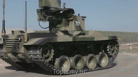 Phat hoang robot kamikaze cua Nga chuyen huy diet xe tang - Anh 11