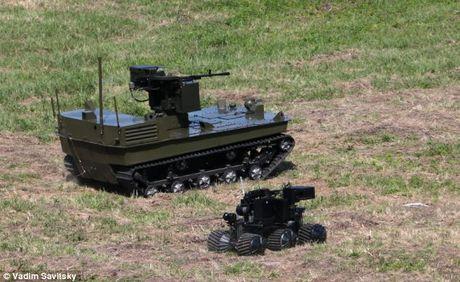 Phat hoang robot kamikaze cua Nga chuyen huy diet xe tang - Anh 13
