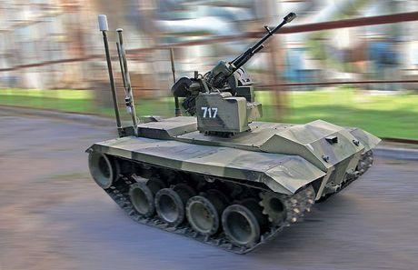 Phat hoang robot kamikaze cua Nga chuyen huy diet xe tang - Anh 5