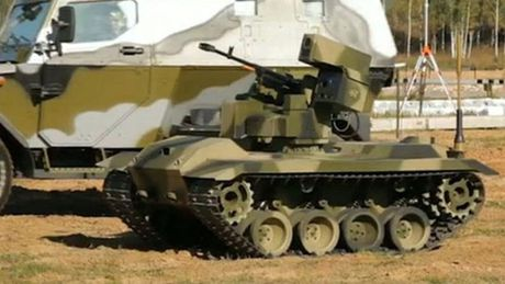 Phat hoang robot kamikaze cua Nga chuyen huy diet xe tang - Anh 6