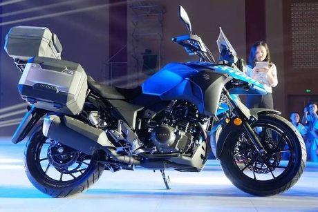 Suzuki ra mat 'xe phuot' gia re V-Strom DL250 moi - Anh 1