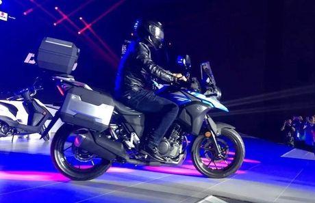 Suzuki ra mat 'xe phuot' gia re V-Strom DL250 moi - Anh 3