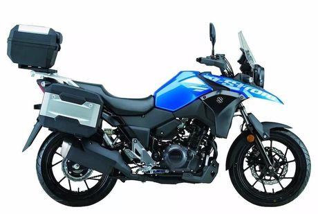 Suzuki ra mat 'xe phuot' gia re V-Strom DL250 moi - Anh 5