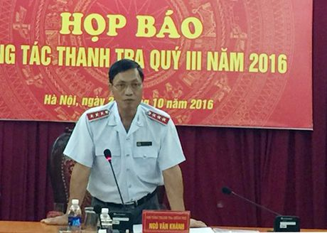 Quy III/2016: Phat hien vi pham 42.656 ty dong qua thanh tra - Anh 1