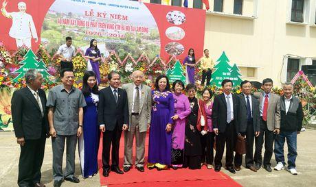 Trong the ky niem 40 nam xay dung va phat trien vung kinh te moi Ha Noi tai Lam Dong - Anh 1