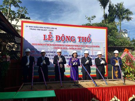 Trong the ky niem 40 nam xay dung va phat trien vung kinh te moi Ha Noi tai Lam Dong - Anh 2