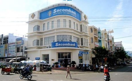9 thang, loi nhuan Sacombank giam 74%, no xau 2,37% - Anh 1