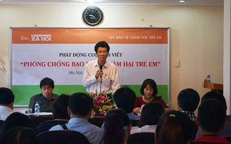 Bat giu Tong Bien tap Bao Lao dong va Xa hoi ve hanh vi danh bac - Anh 1