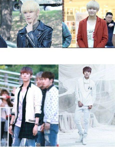 Nhom nam Kpop 'hung da' vi bat chuoc triet de EXO, V (BTS) - Anh 4