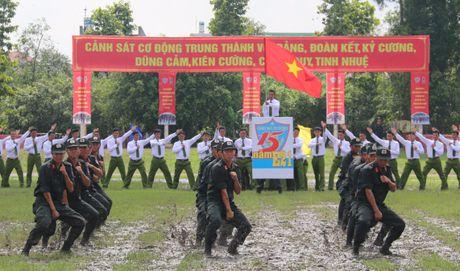 Trung doan CSCD Tay Nam Bo don nhan Huan chuong bao ve To quoc hang Ba - Anh 10