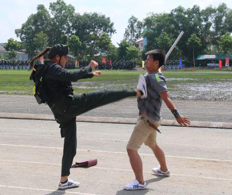 Trung doan CSCD Tay Nam Bo don nhan Huan chuong bao ve To quoc hang Ba - Anh 11