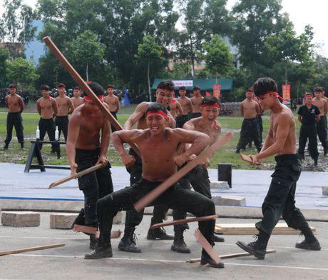 Trung doan CSCD Tay Nam Bo don nhan Huan chuong bao ve To quoc hang Ba - Anh 15
