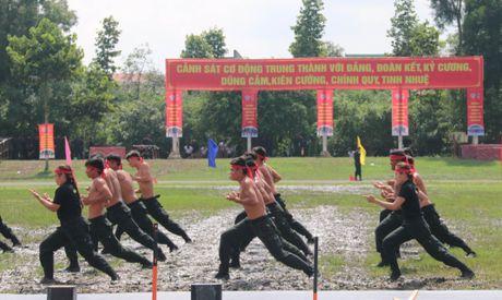 Trung doan CSCD Tay Nam Bo don nhan Huan chuong bao ve To quoc hang Ba - Anh 9