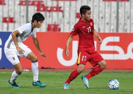 Khoanh khac U19 VN – U19 Nhat Ban: Chien dau het minh - Anh 1